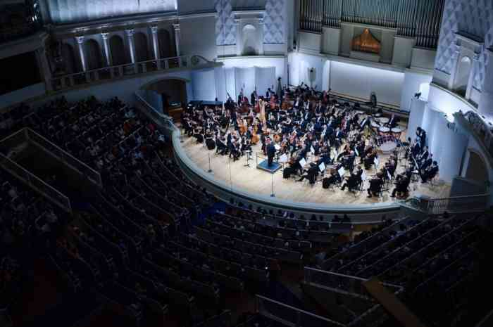 The State Academic Symphony Orchestra named after P. I. Tchaikovsky will present a unique project dated to coincide with the 420-th anniversary of William Shakespeare's 'A Tragic Story of Hamlet, the Prince of Denmark'